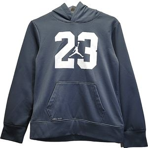 Nike Air Jordan Pullover Hood Fleece Sweater Large